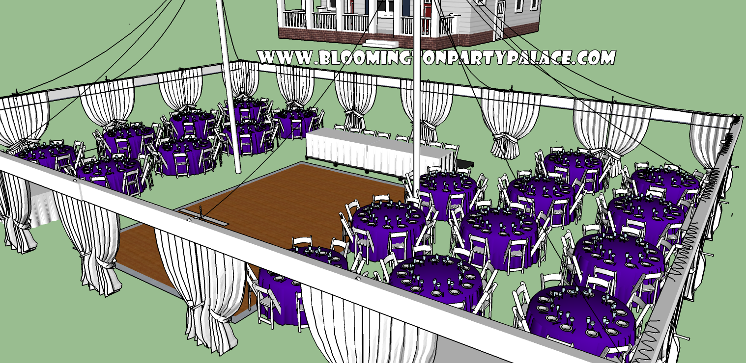 Party Palace Outdoor Wedding Event And Party Rentals C